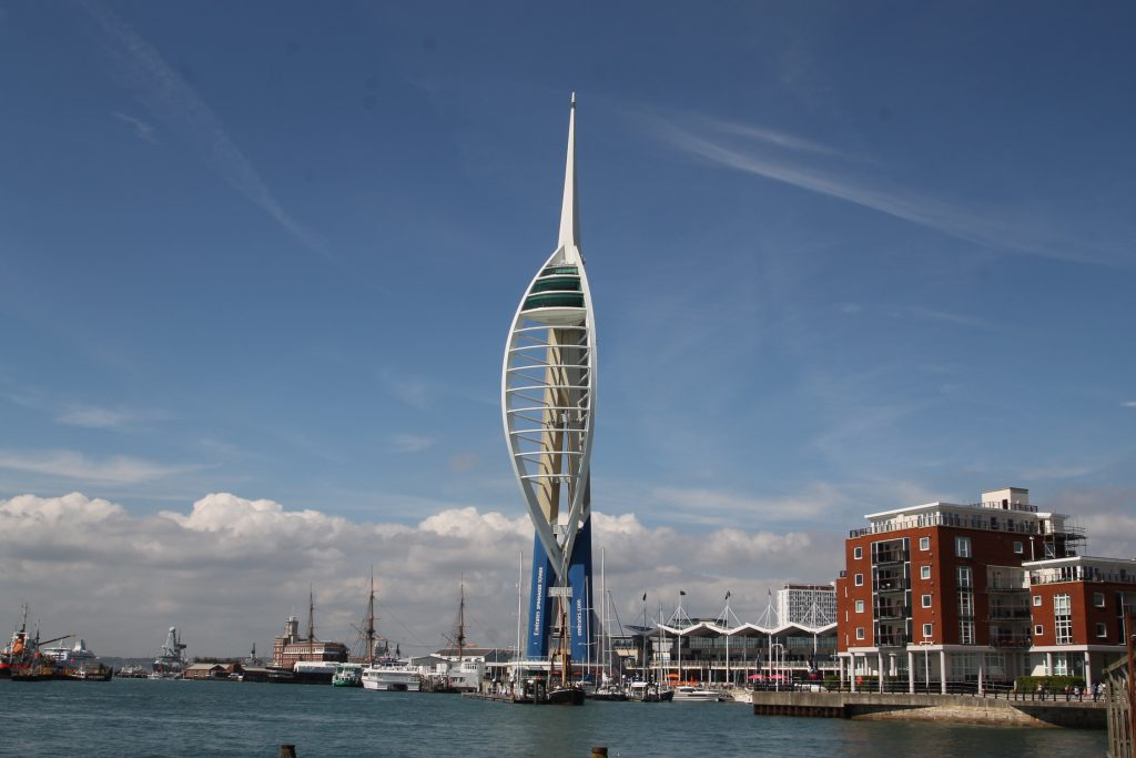 Spinnaker Tower in Portsmouth